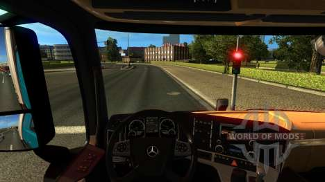 Mersedes-Benz Antos 12 for Euro Truck Simulator 2