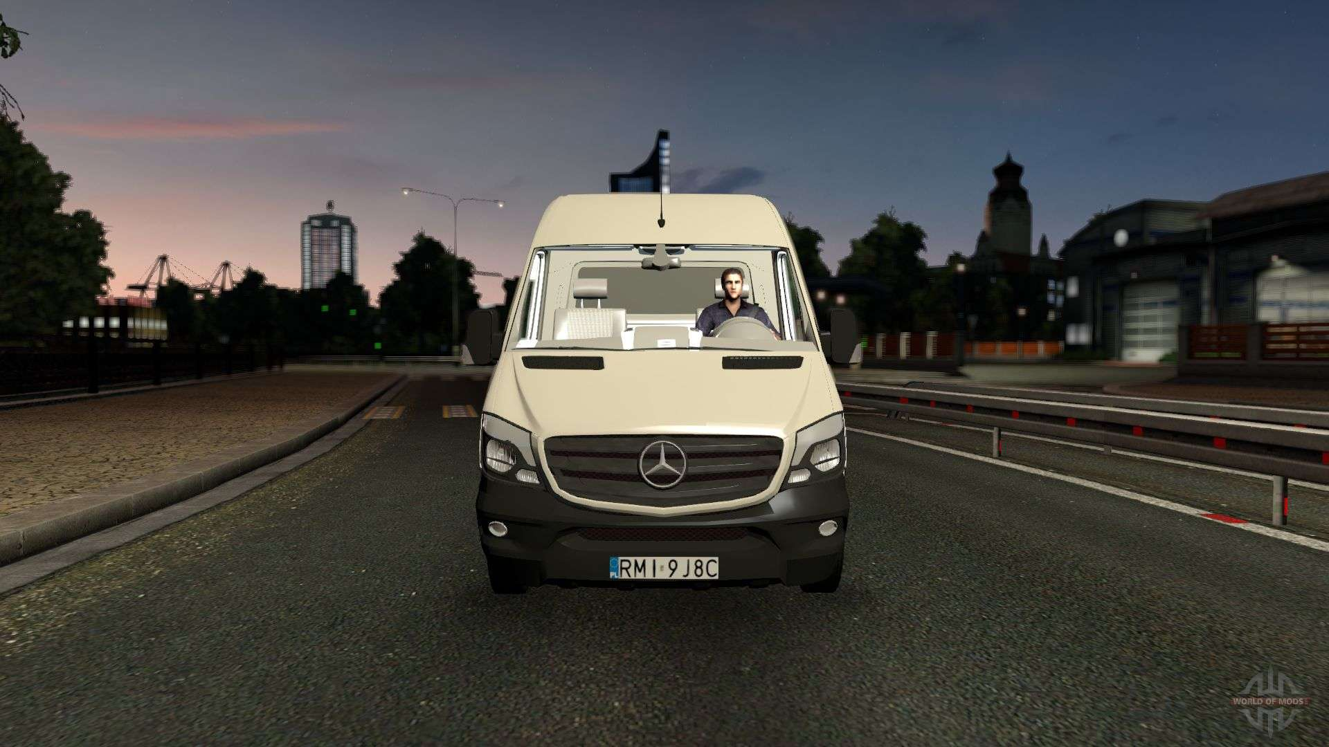 Mercedes benz sprinter cdi311 2014 for euro truck simulator 2 for 2014 mercedes benz truck