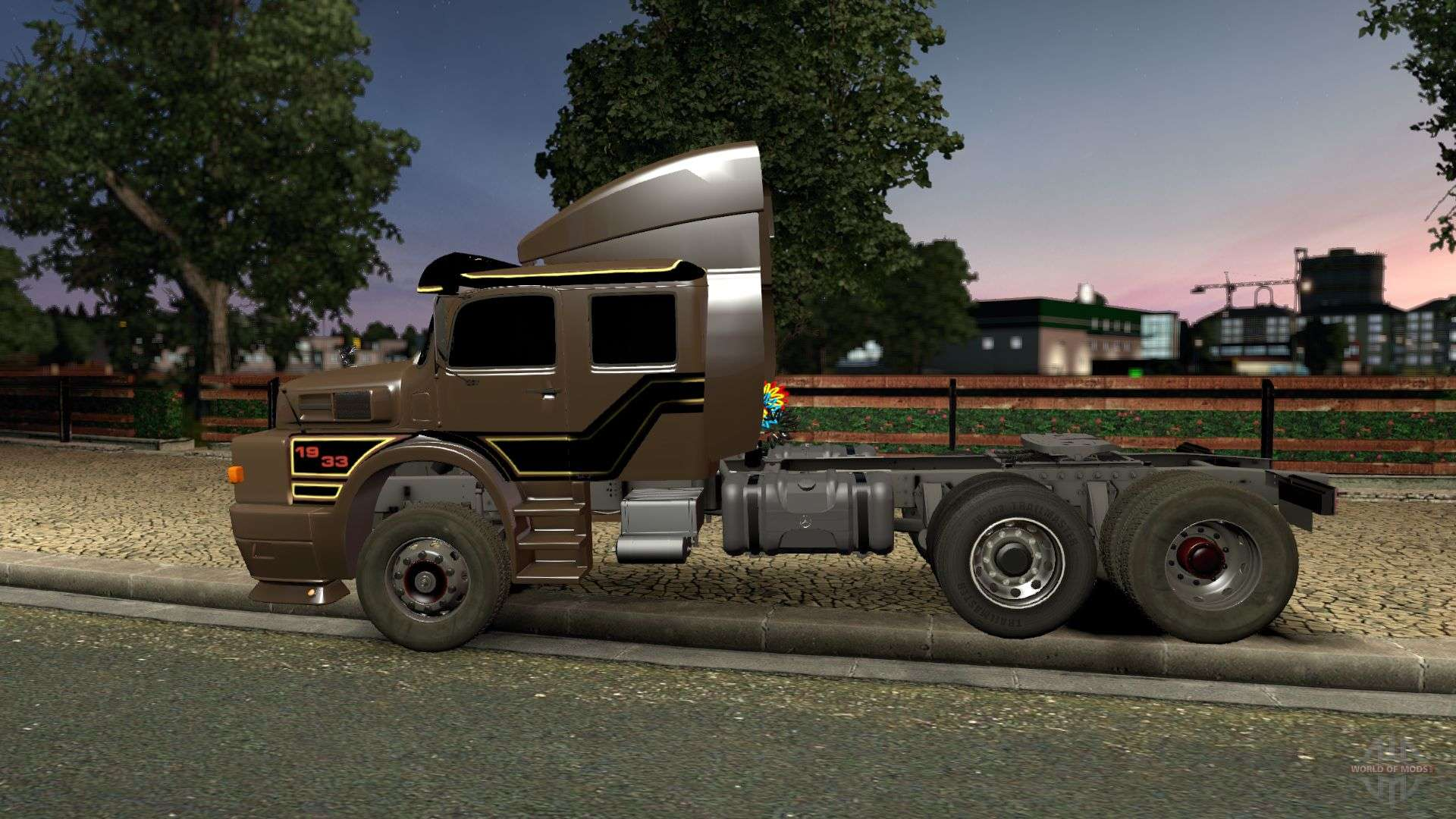 Mercedes Benz 1934 For Euro Truck Simulator 2