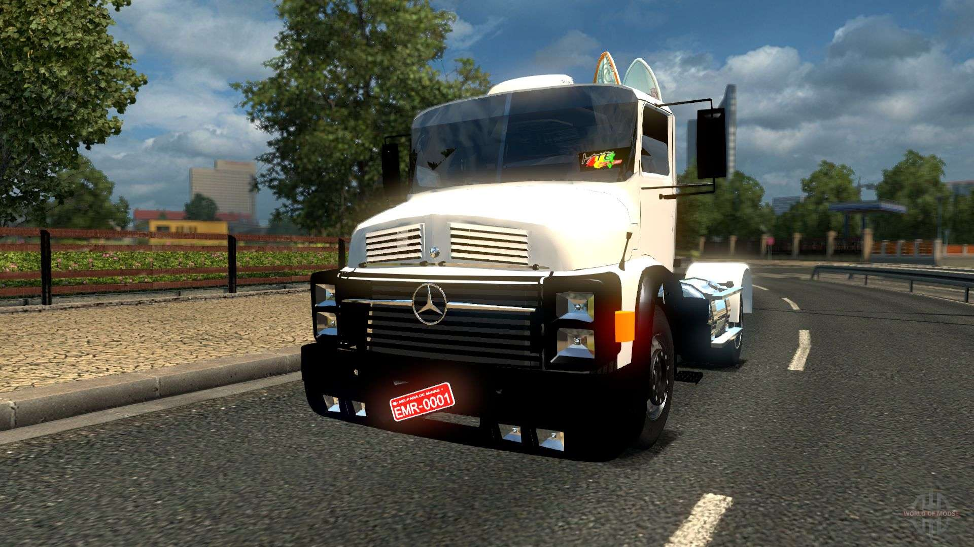 mercedes benz 1518 for euro truck simulator 2