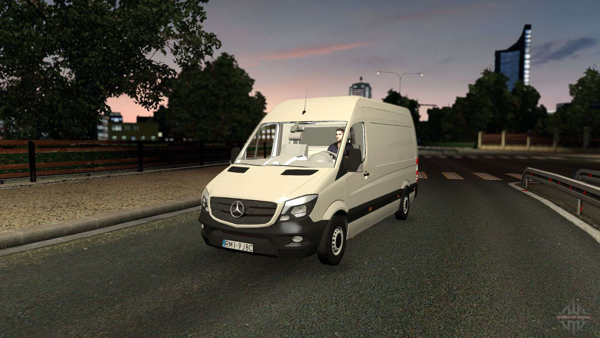 Used Mercedes Sprinter Van >> Mercedes-Benz Sprinter CDI311 2014 for Euro Truck Simulator 2