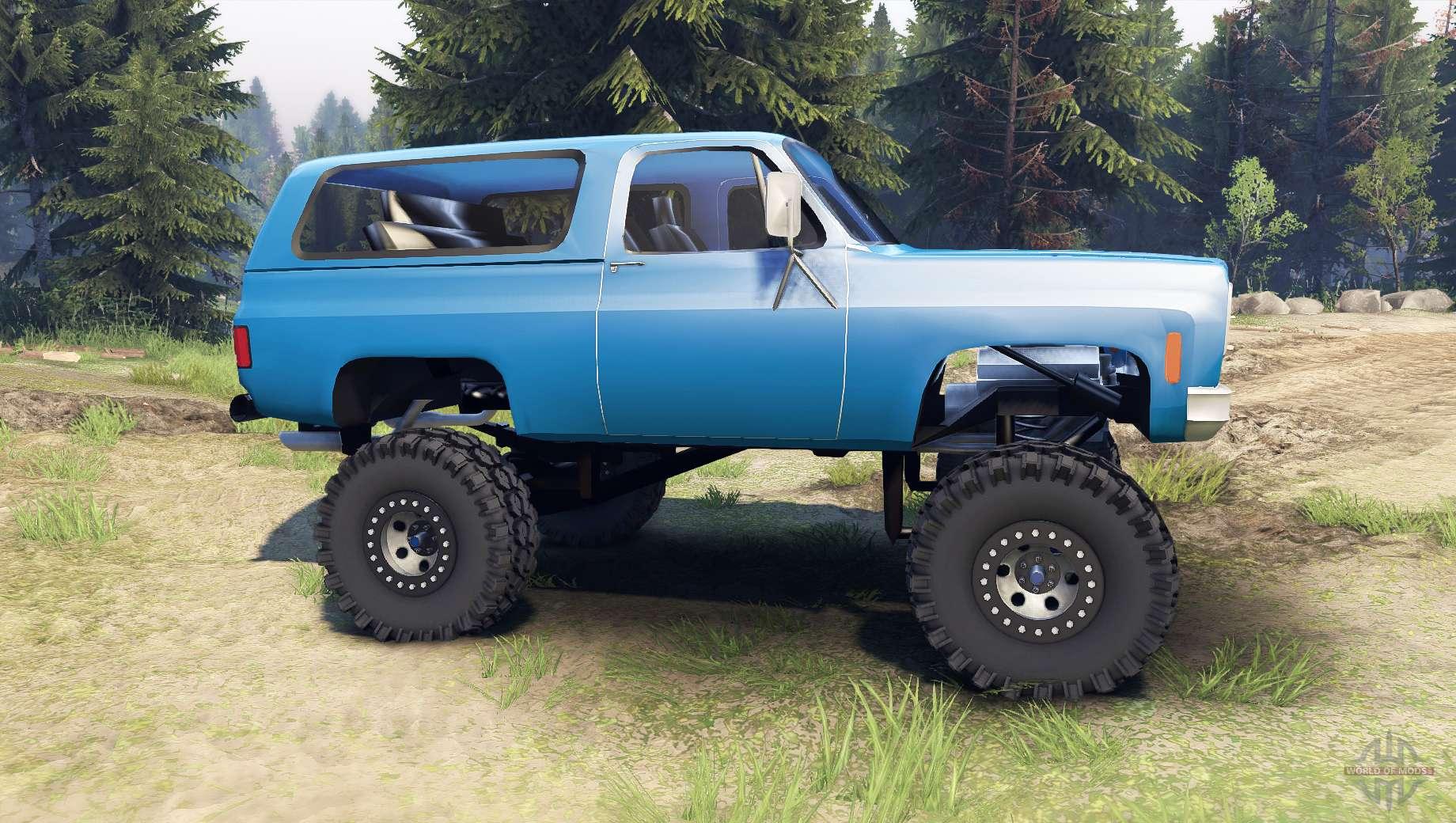K5 blazer 1975 final blue for spin tires chevrolet k5 blazer 1975 final blue for spin tires publicscrutiny Images
