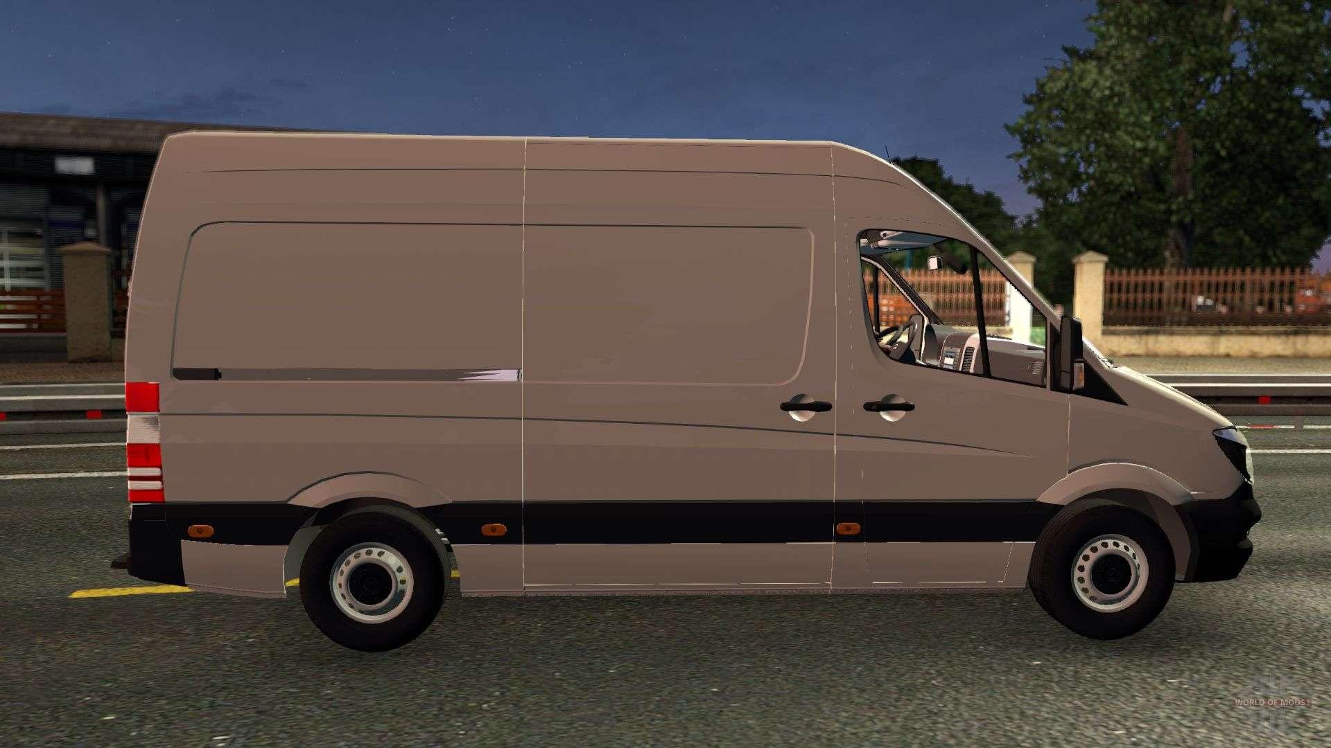 Mercedes benz sprinter cdi311 2014 for euro truck simulator 2 for Mercedes benz euro