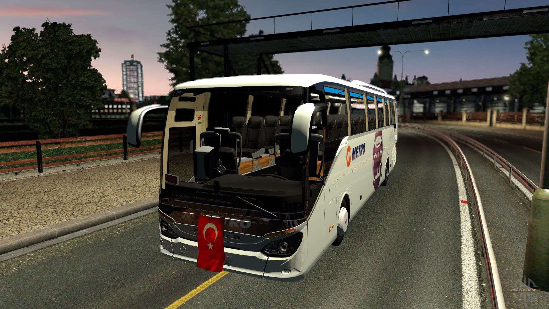 setra 516 hdh bus mod first and only for euro truck. Black Bedroom Furniture Sets. Home Design Ideas