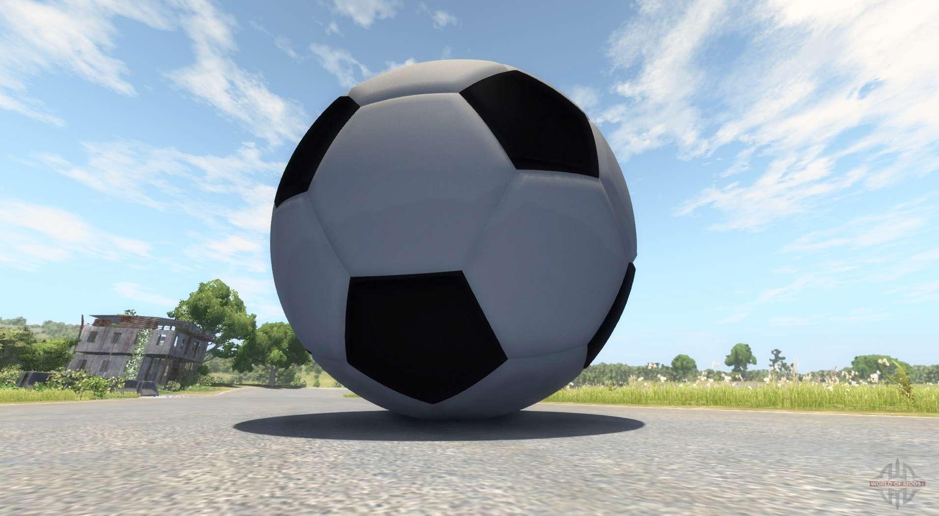 Giant soccer ball for BeamNG Drive