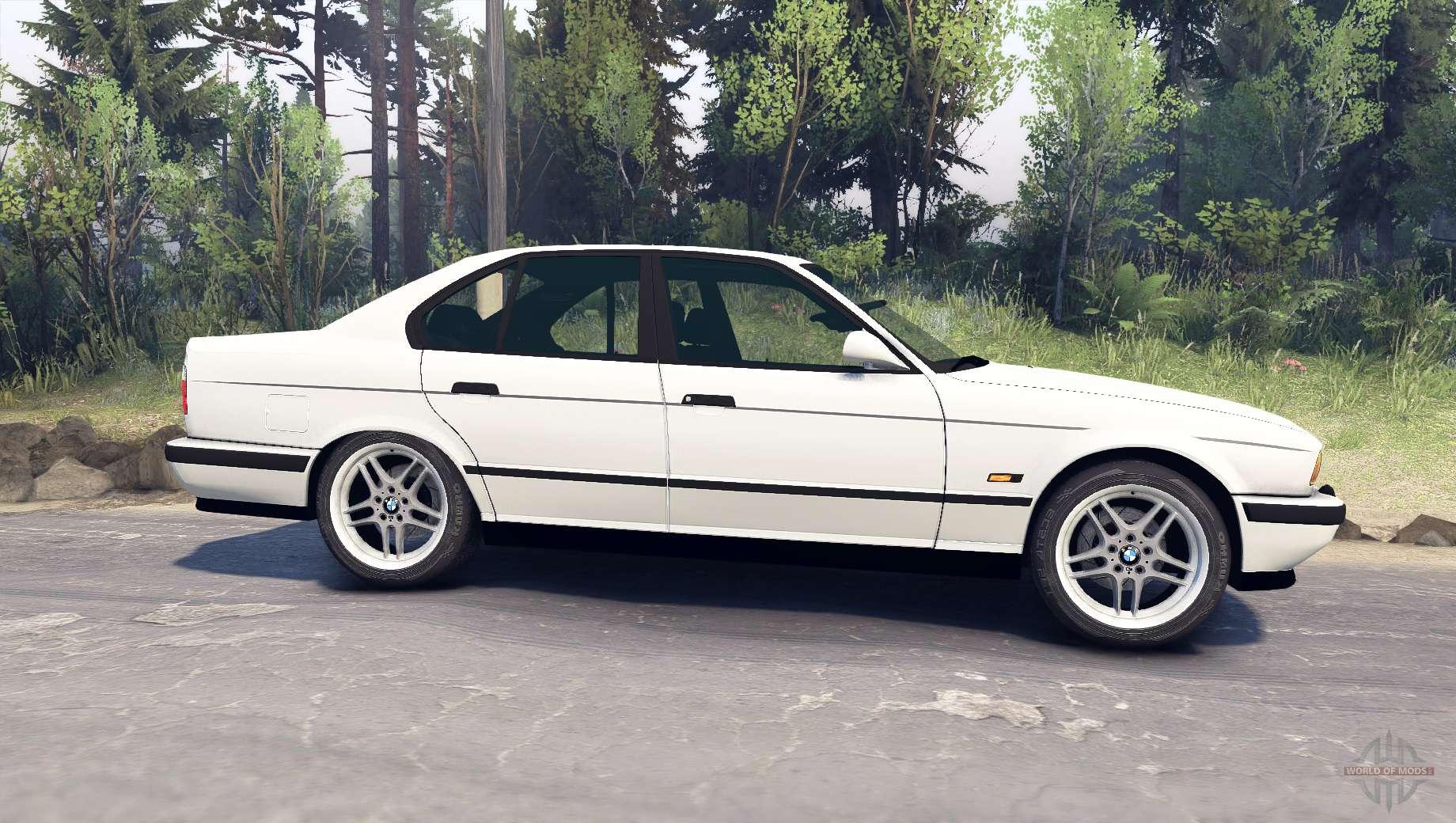 M5 (E34) 1995 v1.1 for Spin Tires