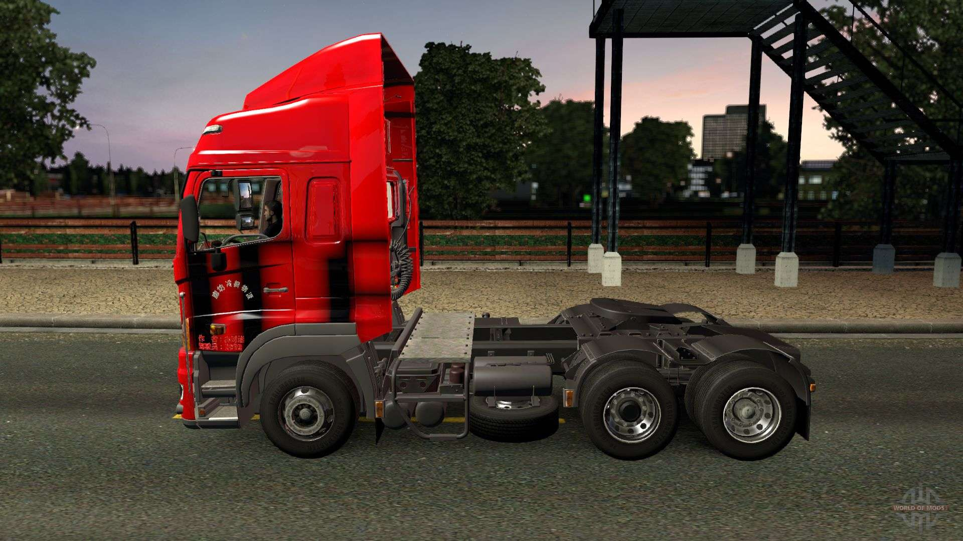 how to drive a car in euro truck simulator 2