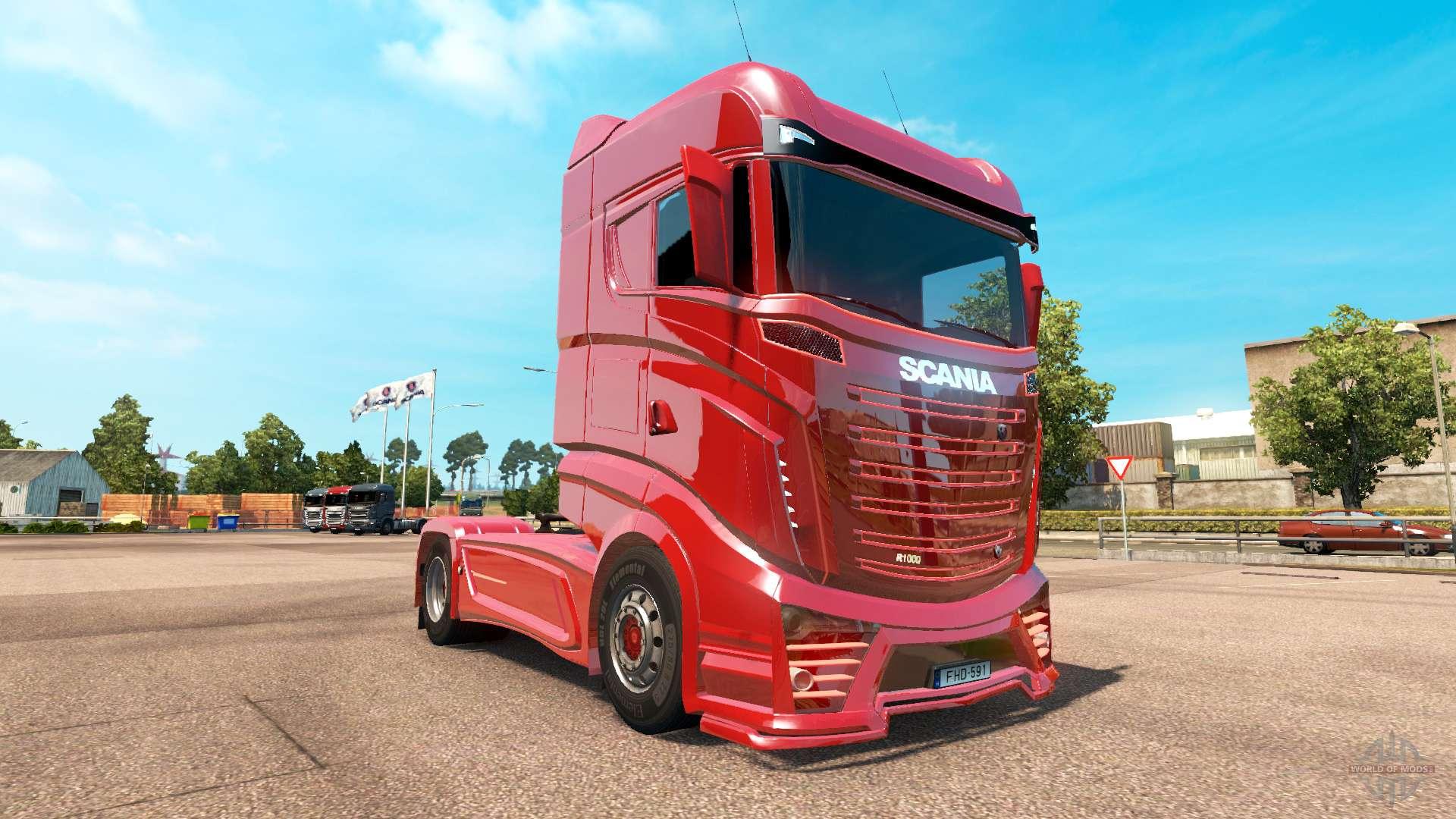 Scania R1000 Concept v3.5 for Euro Truck Simulator 2