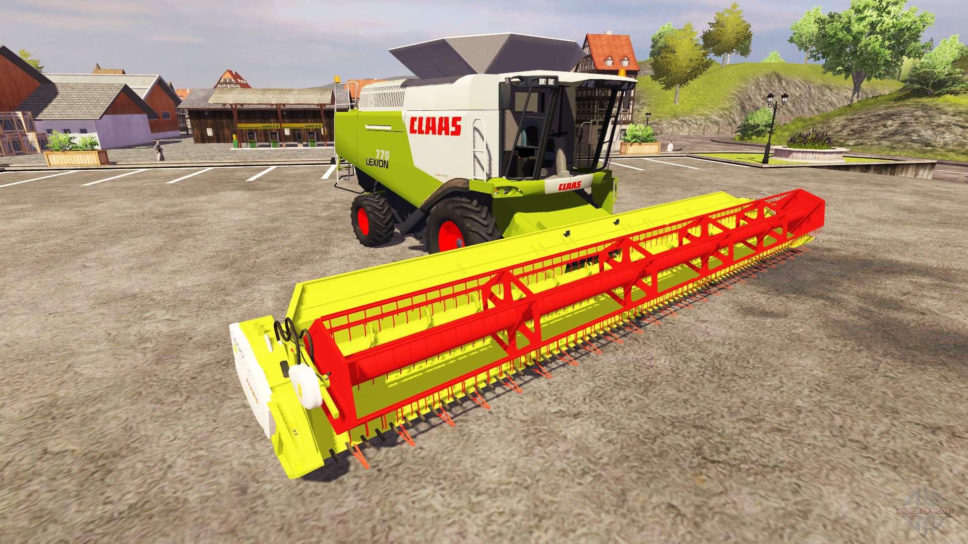 claas lexion 770 for farming simulator 2013 rh worldofmods com Lexion 730 Lexion 770 35