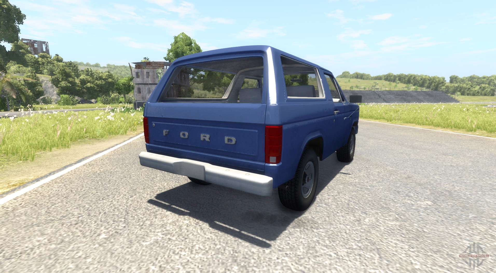 Ford Bronco 1980 For Beamng Drive Ranger