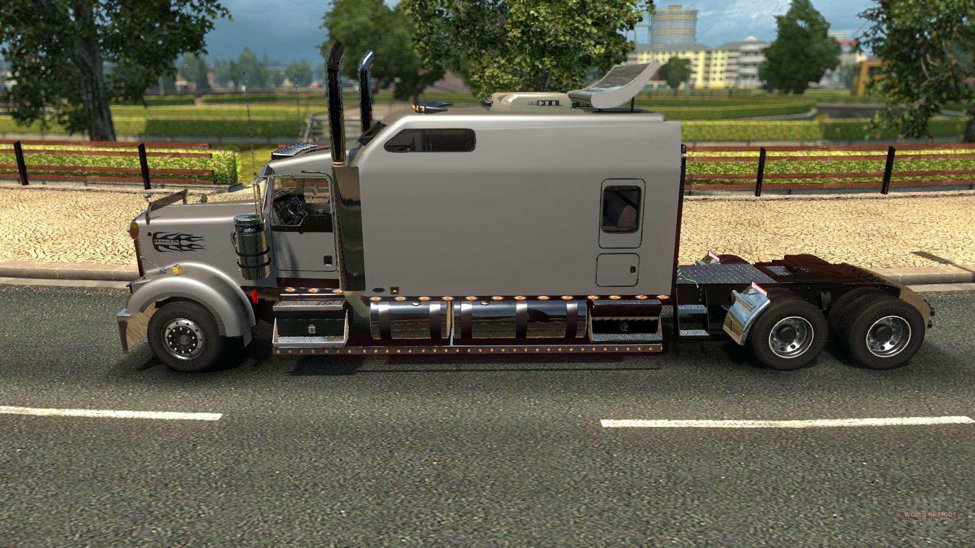 Kenworth Long Edition For Euro Truck Simulator 2