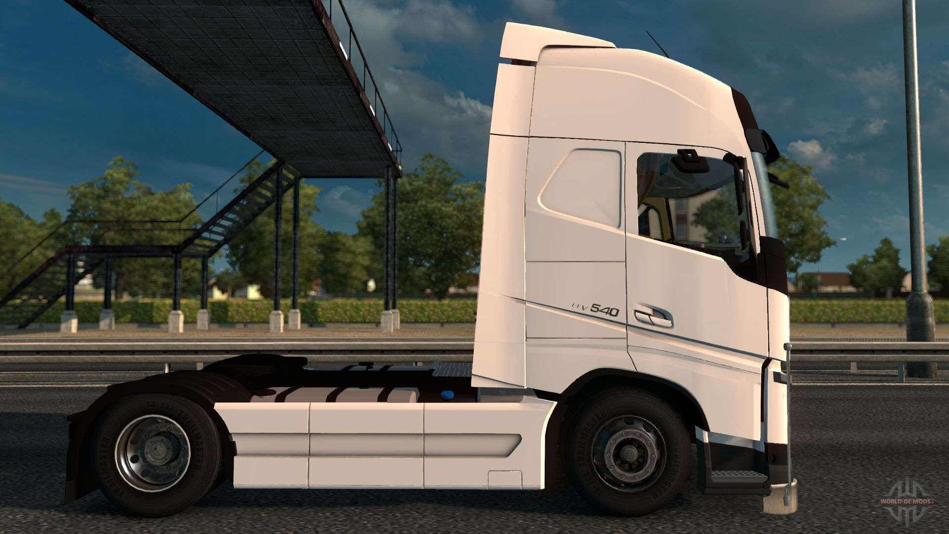 volvo fh4 540 for euro truck simulator 2. Black Bedroom Furniture Sets. Home Design Ideas
