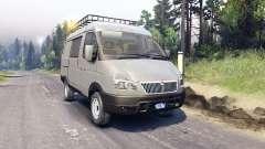 GAZ-Sobol 27527 4x4 for Spin Tires
