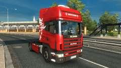 Scania 4 v1.0 for Euro Truck Simulator 2