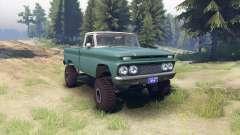 Chevrolet С-10 1966 Custom two tone tropic