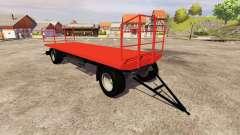 The trailer Agroliner bale