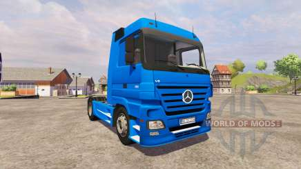 Mercedes-Benz Actros v2.0 for Farming Simulator 2013
