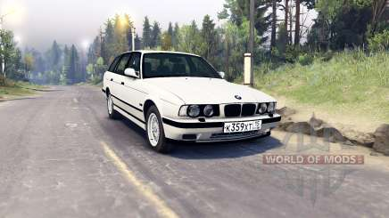 BMW 525iX (E34) Touring for Spin Tires