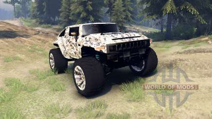 Hummer HX v2.0 for Spin Tires