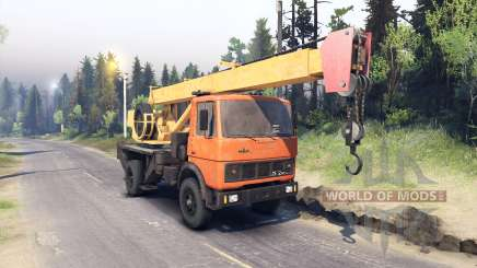 MAZ-5337 for Spin Tires
