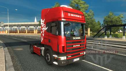 Scania 4 v1.0 for Euro Truck Simulator 2
