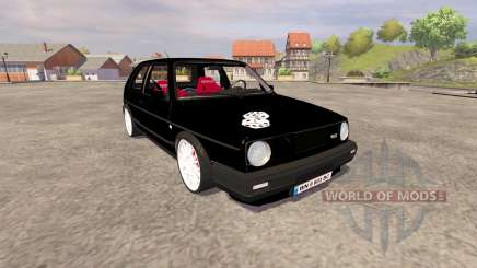 Volkswagen Golf Mk2 GTI v2.0 for Farming Simulator 2013