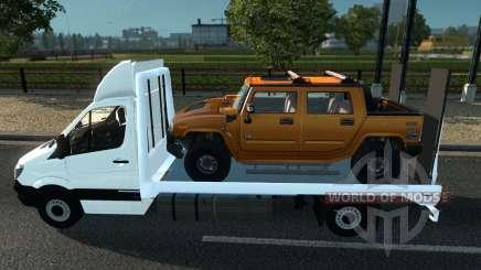 Sprinter Mega Mod v1 for Euro Truck Simulator 2