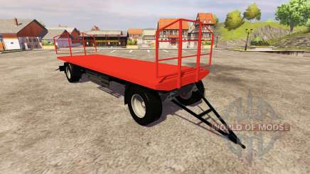 The trailer Agroliner bale for Farming Simulator 2013