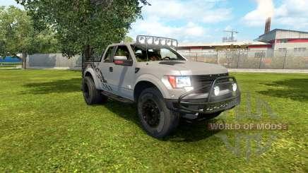 Ford F-150 SVT Raptor 2012 v2.0 for Euro Truck Simulator 2