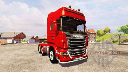 Scania R730 Topline v2.2 for Farming Simulator 2013