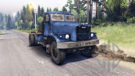 KrAZ-258 4x2 for Spin Tires