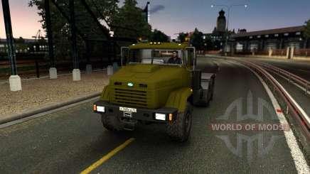 KrAZ 6446 for Euro Truck Simulator 2