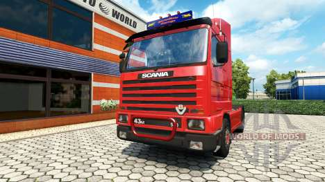 Scania 143M v1.7 for Euro Truck Simulator 2