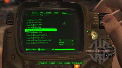 Better Item Sorting for Fallout 4