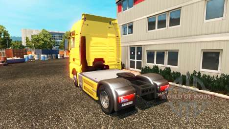MAN TGX Euro 6 for Euro Truck Simulator 2