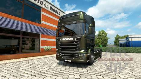 Scania R V8 v2.0 for Euro Truck Simulator 2