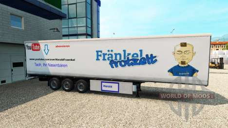 The skin is Harald Frankel on the trailer for Euro Truck Simulator 2
