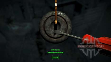 Easy Lockpicking for Fallout 4