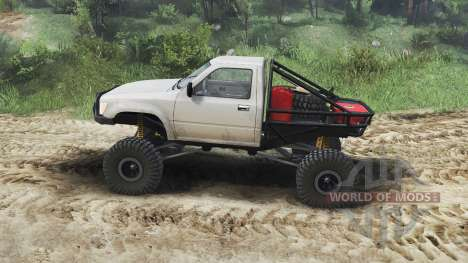 Toyota Hilux Truggy 1990 [23.10.15] for Spin Tires