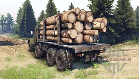 KrAZ-256 8x8 Custom for Spin Tires