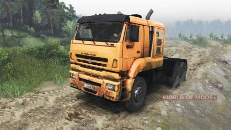 KamAZ-65226 [23.10.15] for Spin Tires