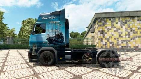 Black Pearl skin for Volvo truck for Euro Truck Simulator 2