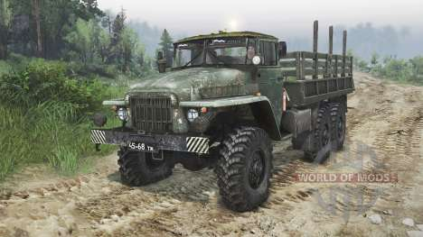 Ural-375 [08.11.15] for Spin Tires