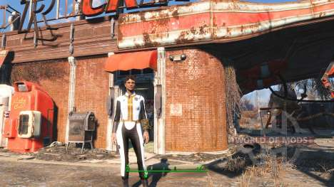 White Vault 111 jumpsuit for Fallout 4