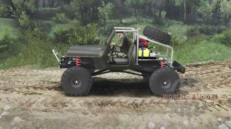 Jeep Wrangler JK8 Crawler [23.10.15] for Spin Tires