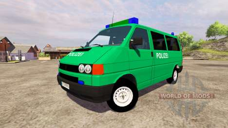 Volkswagen Transporter T4 Police for Farming Simulator 2013
