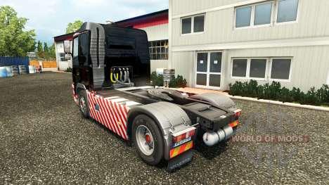 Schwerlasttransport skin for Volvo truck for Euro Truck Simulator 2
