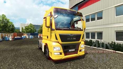 MAN TGX Euro 6 v2.0 for Euro Truck Simulator 2
