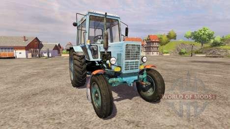 MTZ-80 v2.0 for Farming Simulator 2013