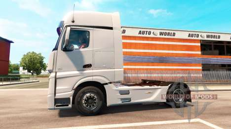 Mercedes-Benz Actros MP4 for Euro Truck Simulator 2